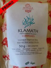 """100g de Klamath AFA Sol Semilla en comprimés    ( """"spiruline""""  """"chlorella"""")"""