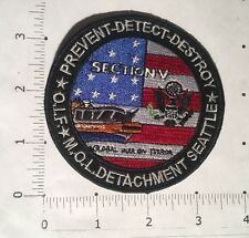 Global War on Terror Patch - Section V - Seattle - Operation Iraqi Freedom