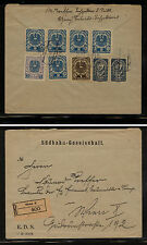 Austria ,Granz  nice  registered cover  local use        KL1231