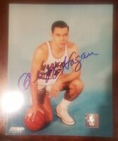 cliff hagan signed 8x10 autographed picture photo auto nba hall of fame hof