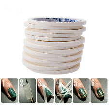 17 M Beauty White Stripe Tape Roll Nail art Edge Guide Stickers Sale Tips M8J8