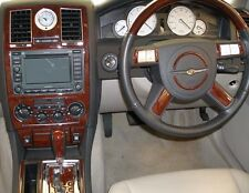 CHRYSLER 300 HEMI FIT 2005 2006 2007 INTERIOR SET GRAIN BURL WOOD DASH TRIM KIT