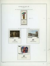 ISRAEL Marini Specialty Album Page Lot #50 - SEE SCAN - $$$