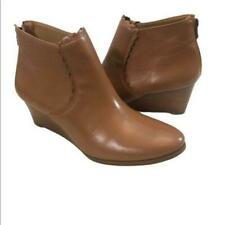 Jack Rogers leather Emery wedge boot ankle booties Size 9