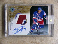 09-10 UD Ultimate Autographed Rookie Patch MICHAEL DEL ZOTTO /25