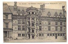 blois le chateau ,façade intérieure françois 1er
