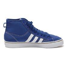 Scarpe Adidas NizzaHi G95872 Uomo  Sneakers Sport Alte Blu Cuciture tg 46 Nuovo
