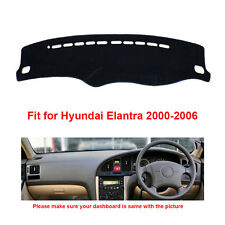 Dashboard Mat Carpet For Hyundai Elantra 2000-2006 Years Car Dashmat Sun Cover