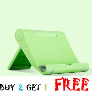 Adjustable Phone Holder Stand Folding Desk Thin Cradle Mount Dock For Cell Phone