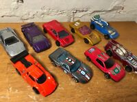 Lot of 10 Vintage Diecast Cars Matchbox Lesney Majorette Kenner Hot Wheels