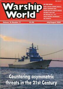 Warship World Volume 16 Number 11 July/August 2020