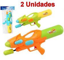 2 Unidades de Juguete Pistola de Agua infantil 47 cm, edad +3 años, niño, niña