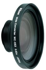 Brand New Nikon WC-E63 Wide Angle Converter Lens 25104 + box for Coolpix cameras