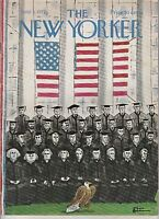 JUNE 3 1972 THE NEW YORKER magazine - U.S. PRESIDENTS - GRADUATION - FLAG