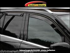 BMW X5 IN-CHANNEL RAIN GUARDS WIND DEFLECTORS 2000-2006