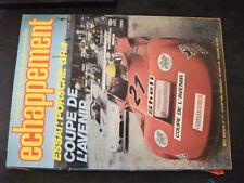 ** Revue Echappement n°117 24h Mans / Porsche Groupe 4 victorieurs à Monte Carlo