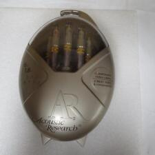 Acoustic Research AR MS291 6' Master Pro Series Component Video Cable Silver