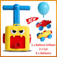 Fun Inertia Balloon Powered Car Toys Aerodynamics Inertial Power Kids Gifts 2020