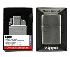 Zippo ® ORIGINAL Einsatz Insert Plasma Double Arc Metalleinsatz Feuerzeug USB