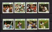 16184) St.VINCENT1988 MNH New Cricket Players