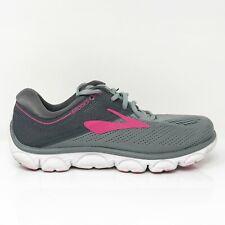Brooks Womens Anthem 1202571B051 Gray Pink Running Shoes Lace Up Size 7.5 B
