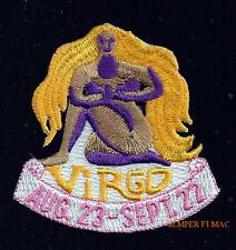 Virgo July 23 August 22 Hat Vest Patch Pin Up Quilt Birthday Greek Mythology