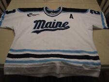 VINTAGE University of Maine Hockey Brad Purdie Game Worn Used Jersey