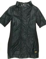 Womens G-Star Dress 'STEAM DRESS' Black Coated Size M