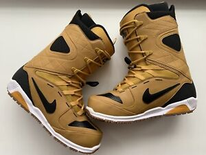 Nike SB Kaiju Men's Snowboarding Boots - Dark Gold Leaf - US11 / EUR45 - Rare