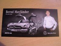 original Bernd Mayländer - Formel 1 ,Motorsport
