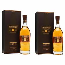 Glenmorangie 18 Year Old Extremely Rare Single Malt Scotch Whisky 2 X 700ml