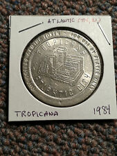 Casino Gaming Token - Tropicana - 1984 - Atlantic City