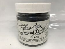 Suze Weinberg's`Melt Art Ultra Thick Embossing Powder Rangers BLACK UTEE