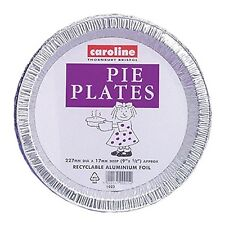 18 Pie Plates Flan Dishes Oven Tin Foil Takeaway Food Container Disposable 1023