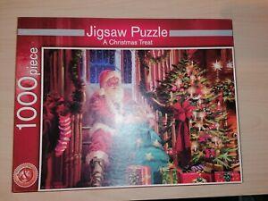 A Christmas Treat 1000 piece Jigsaw Puzzle by Richard Macneil - M&S
