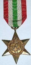 WW2 ITALY STAR, 100% GENUINE FULL SIZE, WITH FREE UK POSTAGE