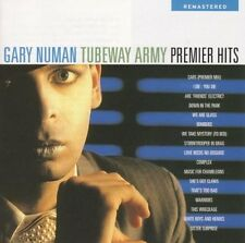 GARY NUMAN TUBEWAY ARMY PREMIER HITS REMASTERED CD NEW