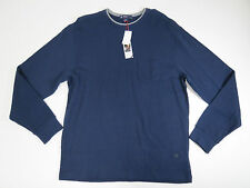 mens sweater light weight top Cremieux Classics  Shirt X-Large Blue