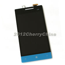 ASSEMBLY TOUCH SCREEN DIGITIZER + LCD DISPLAY HTC Windows Phone 8S A620e Blue