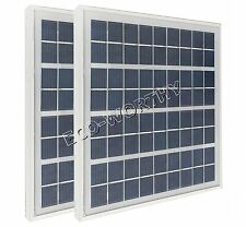 10w-2*5W 12V poly solar panels, 2PCS 5watt pv solar power module, 10w panel