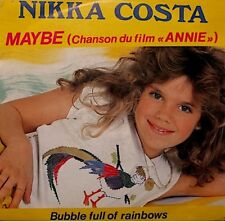 ++NIKKA COSTA maybe/bubble full of rainbow BO ANNIE SP 1982 VG++
