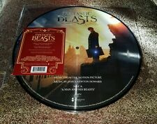 Rare Fantastic Beasts and where to find them Vinyl Picture Disc