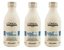 ★★★ 3x L'Oreal Paris Sebo Control Shampoo 250ml gegen fettige Haare ★★★