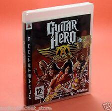 GUITAR HERO AEROSMITH PS3 nuovo completamente in italiano