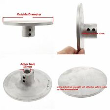 "6"" inch Aluminum master lap for Diamond coated Flat Lap Disk Grinding Wheel"