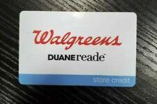 WALGREENS DUANE READE STORE CREDIT GIFT CARD $126.27