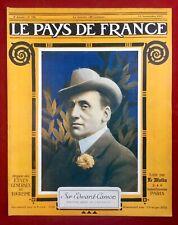 Salonique Grèce 1917 Béthincourt Cote 304 Edward Carson Ercheu Senlis Roumanie