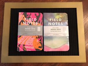 Field Notes Notebooks 2 Brand New Sealed Packs XOXO 2016 & XOXO 2019