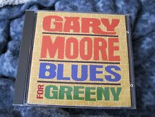 "GARY MOORE CD  ""BLUES FOR GREENY""  IMPORT FROM UK"