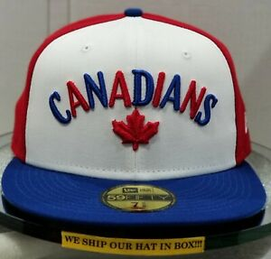 Vancouver Canadians~MILB~New Era~59FIFTY~Genuine~MILB20 Theme NGT2-Candns96~Wht